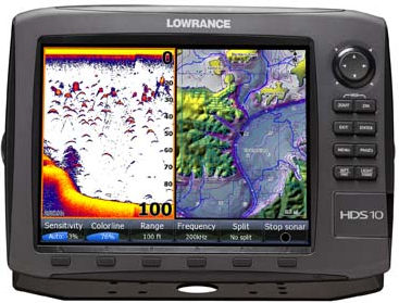 how to use a fishfinder to find fish