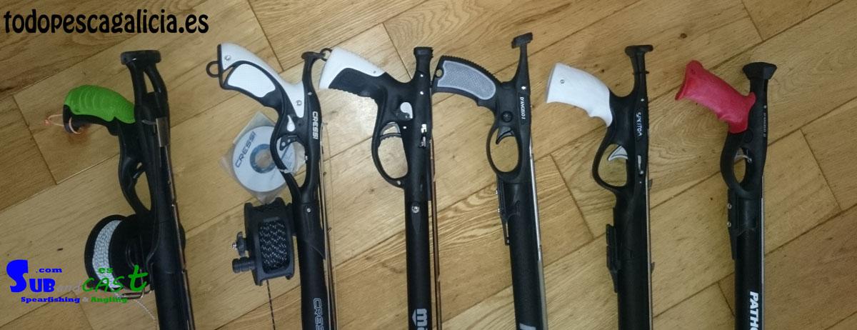 Elegir fusil de pesca submarina - todopescagalicia.es