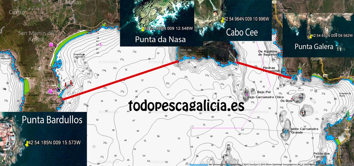 Límite-Ría-Corcubion