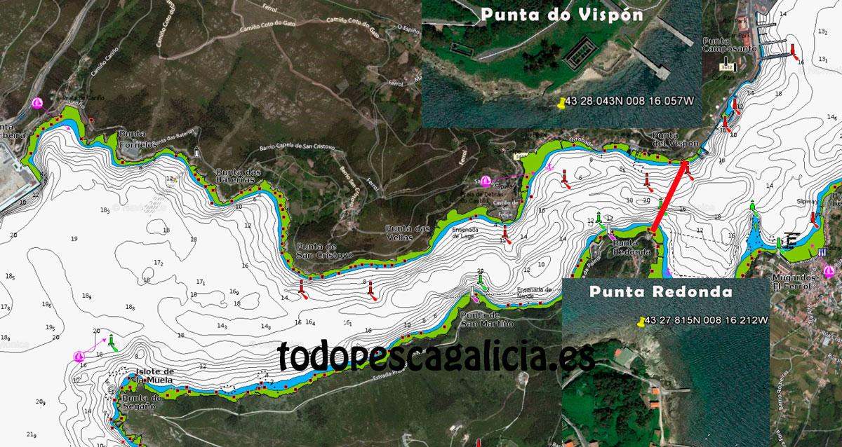 Límite-de-zona-en-la-Ría-de-Ferrol