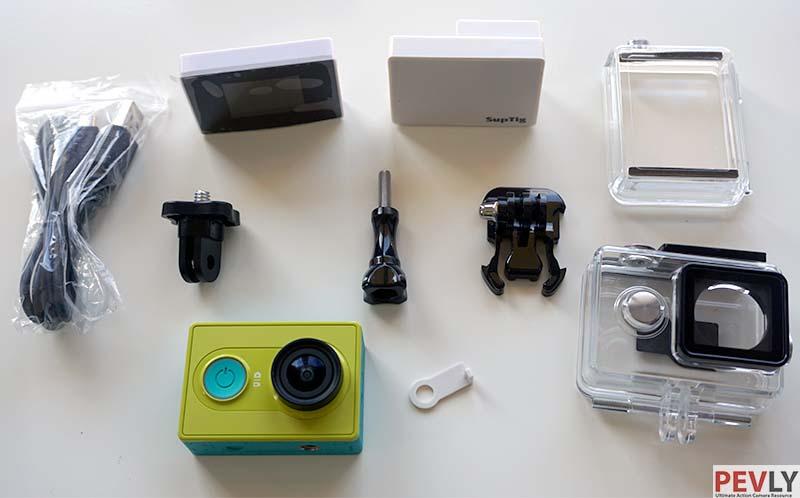Battery-LCD-screen-waterproof-case-for-Xiaomi-YI-action-camera
