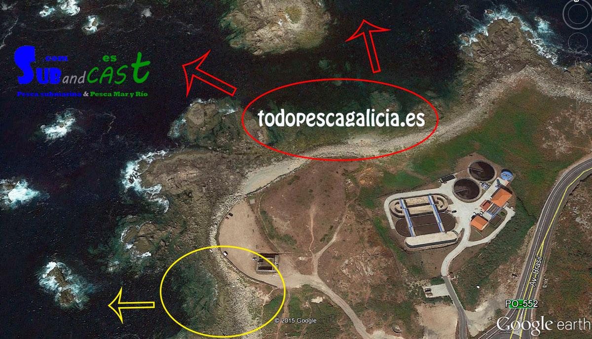 ZONA DE PESCA SUBMARINA – CABO SILLEIRO