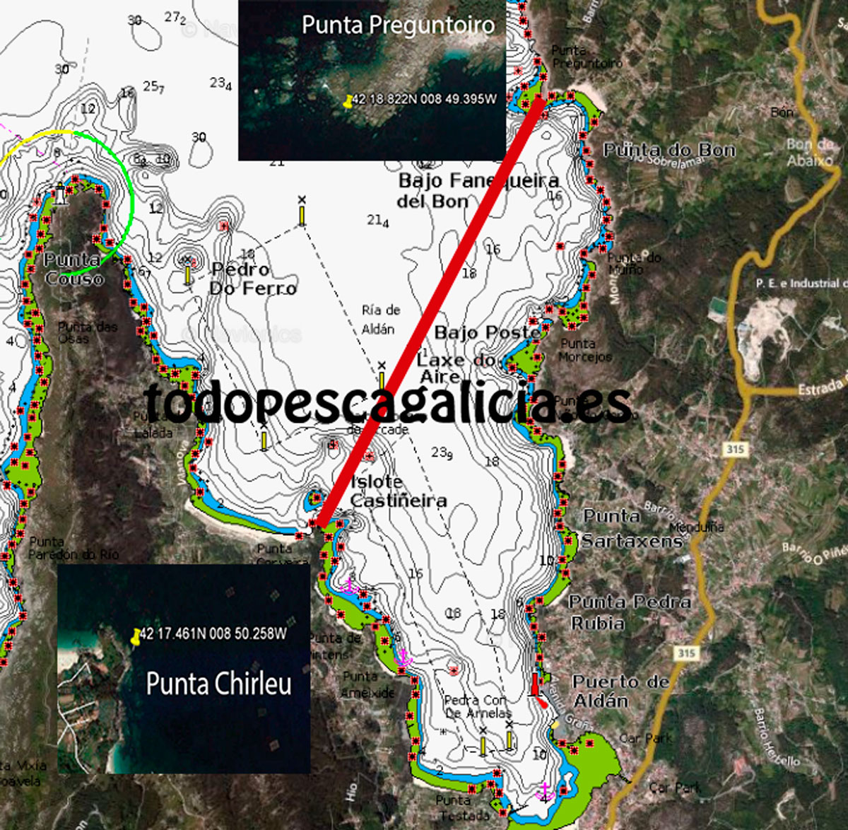 Límite-zona-de-pesca-ría-de-Aldán