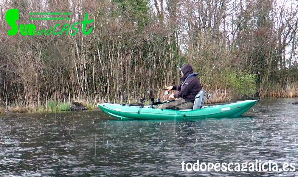 Kayak-granizando