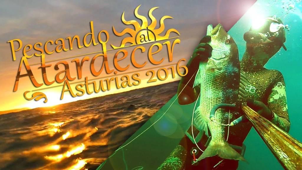 Pescando al atardecer Asturias 2016 – Jordán Menéndez